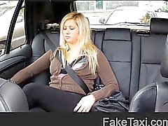 FakeTaxi - Pussy dripping over big thick cock