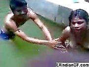 Kink indiskt brud får Naughty med vänner