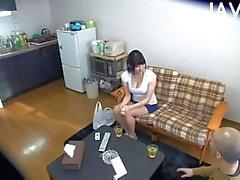 Busty Japanese titsjobing