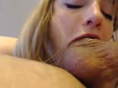 Hot Blonde Amateur Ex Freundin Giving Kopf POV
