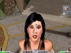 Кэйти Фей Лиз и яростного 3D