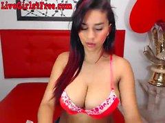 Heiße Latina Webcam Mädchen Dildos Pussy