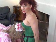 Chastity release & sucking practice for Angelica by Madame C