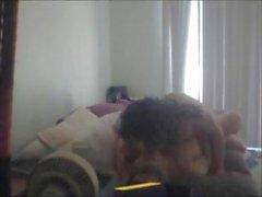 Sarışın amatör ev kadınıev video kaydedici üzerinde yaladı ve gets fucked