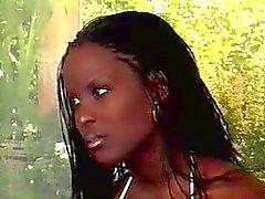 Zwangere Ebony Fucked Beauty & Belly cummed