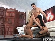 Havana Ginger and Davia Ardell In Awesome Interacial Sex