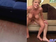 MILF Trip - Horny blonde MILF Dee Williams prend la charge à la face - Partie 2