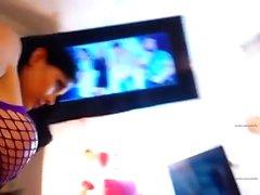 дилетант в доступа кими мигающих сиськами на живой веб-камера