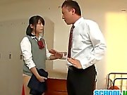 Teen goes nasty with a horny teacher