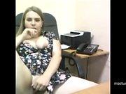 Masturbation break in my office