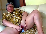 Fat Old Dildo Ficken Oma