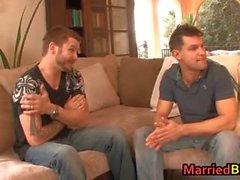 Ein verheirateter Mann bei seinem ersten Homosexuell Esel Teufel part6