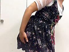 Широкая юбка в сборку - дедвейтом