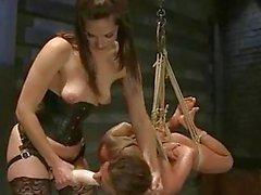 Sassy Bobbi Starr Torments A Hor...
