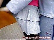 Bus groping video