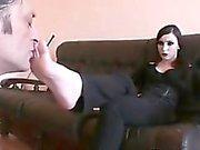 Goth İçilmez Ona Ayak Worshipped alır