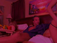 Джесс Эндрюс и Alektra Синяя у групповой секс