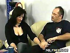 Femme d'âge mûr De Allemagne