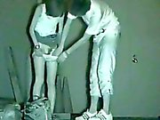 Infrared camera voyeur public sex