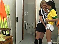 Brasiliano fuckin ' L'arbitro mostra