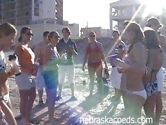 Partygirl Spring Break Home Beach Fun Video