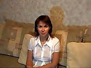Russian Mature teacher leads sexy lesson! Amateur video!