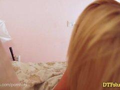 Dtfsluts - Ultra-Babe Pornstar, Tasha Reign, in Persönliche Anal Sex Tape