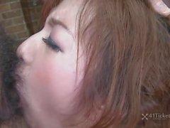 Bukkake Creampie Facefuckfest de Aiko Nagai (Uncensored JAV)