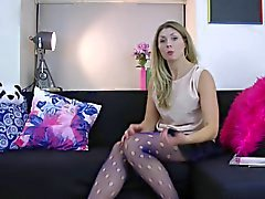 Carly Jonthan Aston Polka Hole нетто Tights