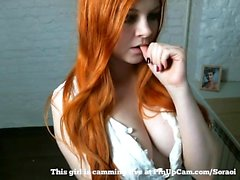 Fantasy Cosplayer Having Some Fun On Cam...