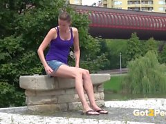 Peeing In Public Compilation 007