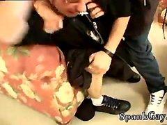 Läimäyttää cowboy ja homo- isi läimäys tarinoita Skater Spank Wars G