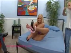 hot tall skinny blond wife fucking in front of husband