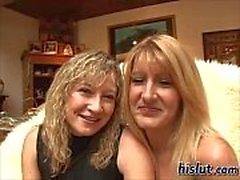 Janine fucked Karinne
