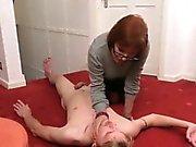 Mature mistress cock tug