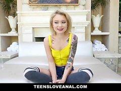 TeensLoveAnal - Dakota Skye fodido por enorme galo