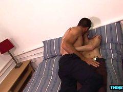 Cumshot ile Euro twink anal seks