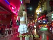 Таиланда ледибой Ванкс Сладкая Cock