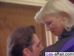 French Classic Sex With Blonde Milf