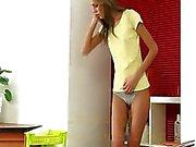Skinny girls make great piss targets
