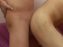 Hardcore seks Sıcak Sevimli Gay çift
