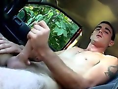 Download homo porn Pissing into a puddle and then jacking ou