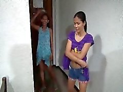 Filipina gets creampied