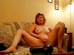 Caldo Video rubata del mio mamma bella divertirsi sulla webcam