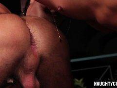 Latin Homosexuell Anal-Sex mit abspritzen