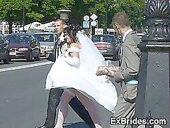 Realidade impertinente do As noivas amadores !