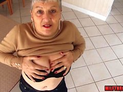 Big tits mature sex and cumshot