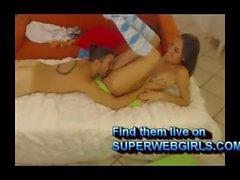 Sexy girl anal sex with big dildo