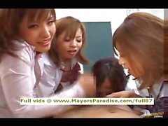 Les filles AV japonais sont coq les infirmières teasing