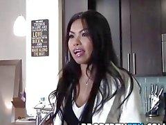 PropertySex - Sexy asiatischen Immobilienmakler geil für dick fickt ihren Kunden